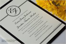 black tie wedding invitations black tie optional wedding invitation kac40 info