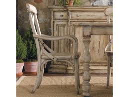 hooker furniture wakefield x back distressed white dining arm