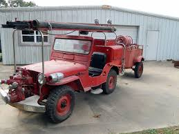 jeep fire truck 1949 cj 3a fire jeep gravette ar ebay ewillys