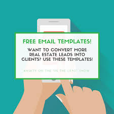 13 free real estate email templates that get you answers