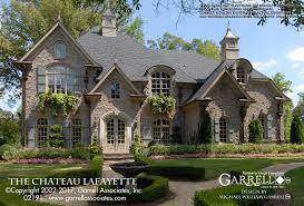 chateau style house plans chateau lafayette house plan house plans by garrell associates inc