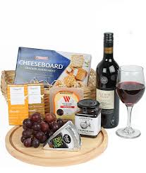 wine and cheese baskets top wine cheese gift basket free flower gift delivery auckland