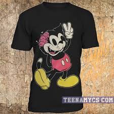 drop ded mickey mouse drop dead t shirt teenamycs