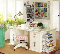 decor u0026 tips striking white pottery barn desks with drawers and