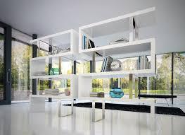White Bookcase Ideas Modern White Bookcase New Interiors Design For Your Home