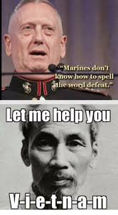 Spell Me Meme - marines don t know how to spell the word defeat let me help you