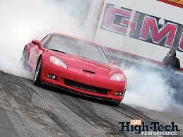 corvette clutch burnout 2007 chevy corvette z06 gm high tech performance magazine