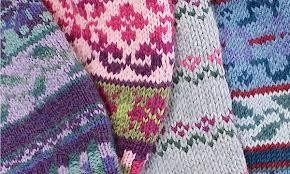 fair isle knitting technique with joynes town square