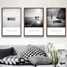 Peinture Noir Et Blanc by Online Get Cheap Noir Et Blanc Paysage Peinture Aliexpress Com