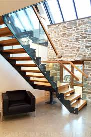 Contemporary Banisters And Handrails Modern Staircases Spiral Staircases And Staircases