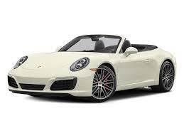 porsche 911 msrp 2017 porsche 911 s cabriolet msrp prices nadaguides