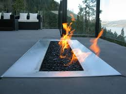 Modern Outdoor Gas Fireplace by Modern Outdoor Gas Fire Pits Latest Fire Pits Design