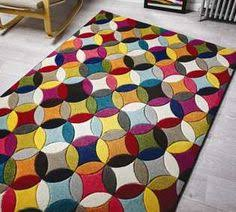 Modern Rugs Ltd Fusion Patch 56908 Multi Rugs Modern Rugs Rugs Pinterest