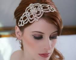 great gatsby hair accessories gatsby hair etsy