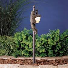 kichler lighting 15358oz acorn with squirrel path light kch 15358 oz
