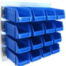 home storage containers new plastic parts bins boxes with steel