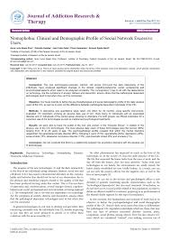 cic si e social nomophobia impact of cell phone use pdf available