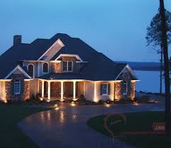 led soffit lighting outdoor for luxury and glowing light at