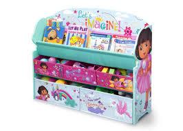toy organizer dora deluxe book u0026 toy organizer delta children u0027s products
