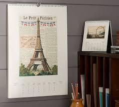 cavallini calendars cavallini 2015 wall calendar pottery barn
