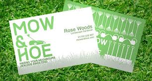 How To Design Your Business Card How To Design A Business Card For Gardeners Solopress