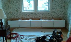 Ikea Window Seat Hack by Custom Storage Bench Hd Construction