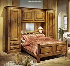 chambre à coucher rustique chambre pont chêne meuble de chambre pont rustique