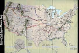 Images Of The United States Map by National Trails System Physical Map United States Full Size