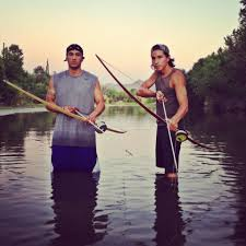 martin sensmeier u0026 amson collins bow fishing beautiful warriors