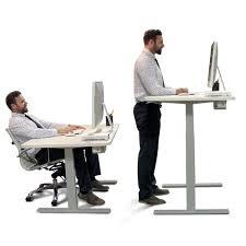 Ergonomic Standing Desk Height Autonomous Smartdesk Height Adjustable Standing Desk Dual