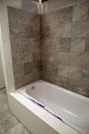 Finished Bathrooms Finished Tile Work For The Left Bathroom Bathtub Kit Fit Prototype