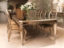 mirror dining table modern interior design inspiration