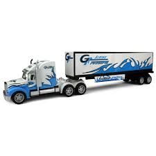 semi trailer truck velocity toys power freight trailer friction toy truck ready to