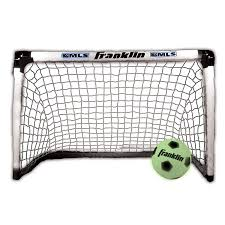 amazon com franklin sports mls light up soccer goal and ball set