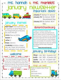 preschool newsletters 10 preschool newsletter templates free