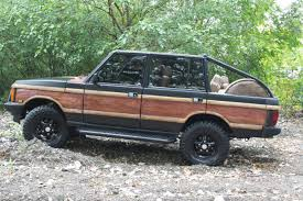 range rover truck conversion meet the world u0027s first convertible woodie range rover built by preval