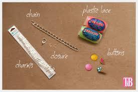 diy bracelet with charm images Candy colored diy charm bracelet jpg