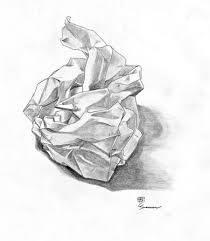 how to draw a crumpled paper ball google search яαωıηg ı