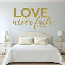 christian home decor 1 corinthians 13 love never fails