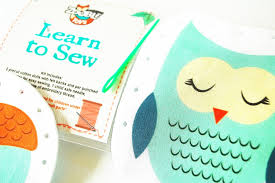 kids sewing kit kids craft kit learn to sew kit gift