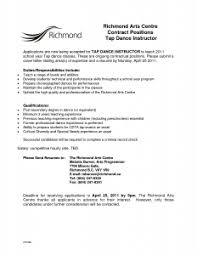 best ideas of resume sample dance recommendation letter with