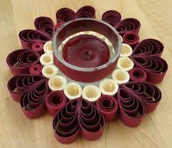 circle of hearts tea light holder romantic dinner decor