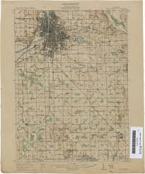Central Michigan University Map Historical Topographic Maps Perry Castañeda Map Collection Ut