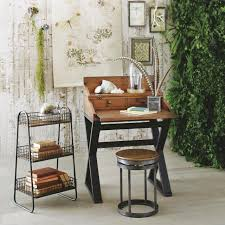 12 tiny desks for tiny home offices hgtv s decorating design 7 wood secretary