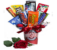 food bouquets junk food candy bouquets by christine s always uses name brand