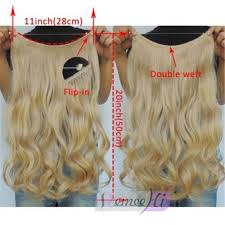 invisible hair in wavy remy human elastic invisible wire hair extensions 20inch