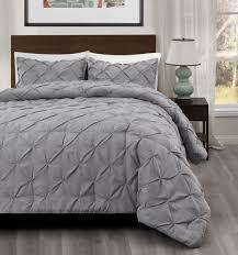 amazon com master 2 piece twin size pich pleat comforter set