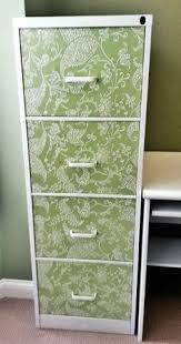 How To Paint A Filing Cabinet One Bliss Fully Flowered Chalk Painted Stencilled Filing Cabinet