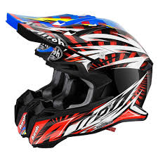 orange motocross helmet airoh terminator 2 1 lightning motocross helmet buy cheap fc moto