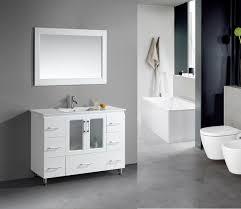 Bathroom Furniture Sets Design Element Stanton Single Drop In Sink Vanity Set With White